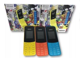 Telefono Celular Nokia 8110 Doble Sim Liberado Mp3 Camara