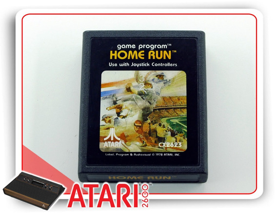 Home Run Cartucho Original Atari