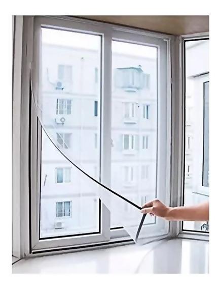 Tela Mosquiteiro Proteção Janela 1,30cm X 1,50cm Com Fita