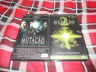 Filme Vhs Mutação 1 E 2. Guilhermo Del Toro.
