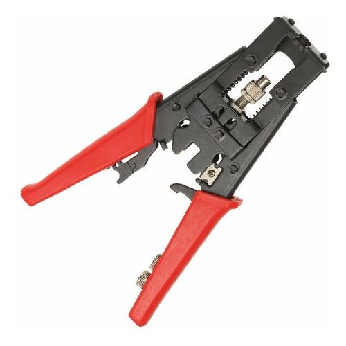 Pinza Crimpeadora Compresion Cable Coaxil Ficha Bnc Rg6 59 F