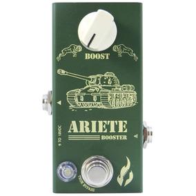 Pedal Guitarra Booster Ariete Fire Custom Mini