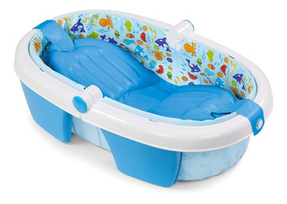 Bañera Plegable Para Bebes Azul Summer S08310d