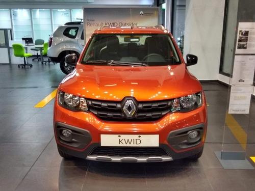 Renault Kwid Outsider 2021 Oportunidad Patento Ya! (mac)
