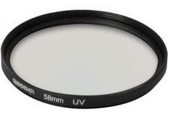 Filtro Protetor Uv 49mm Para Camera Nikon Sony Canon