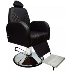Cadeira Profissional Hidráulica Para Salão E Barbeiro + Nf