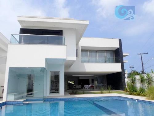 Imagem 1 de 30 de Casa Venda E Locação - Condomínio Jardim Acapulco -  Guarujá. - Ca1567