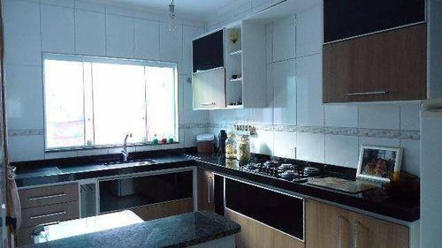 Sobrado Com 3 Dormitórios À Venda, 145 M² Por R$ 510.000,00 - Vila Cecília Maria - Santo André/sp - So4185