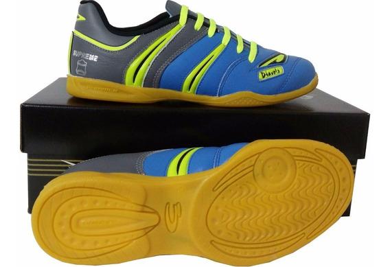 Tênis Futsal Couro Legítimo Supreme - Frete Grátis