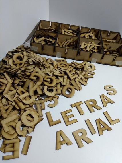 300 Letras Arial_5 Cm_fibrofacil_mdf_ Al Mejor Precio