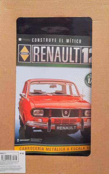 Renault 12 Para Armar - Eaglemoss - Numero 63 + Piezas