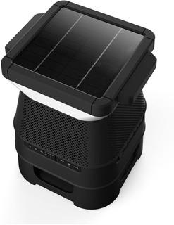 Parlante Exterior Bluetooth Solar C/ Led Novedad Monster