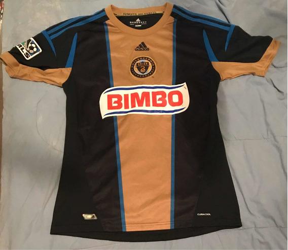 Camisa Philadelphia Union - Mls - Marca adidas - Tamanho Gg