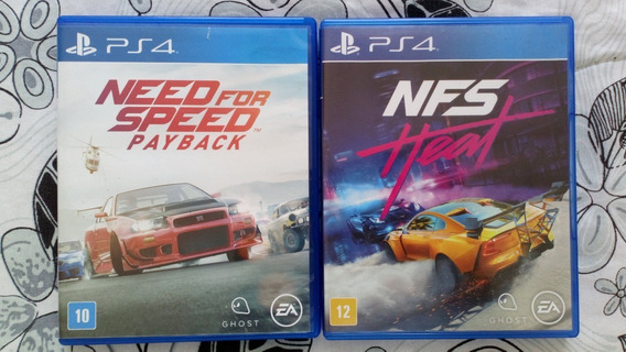 Need For Speed Heat + Need For Speed Payback Ps4