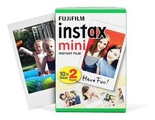 Fujifilm Pack Papel Fotografico 20 Peliculas Instax Mini 8 9