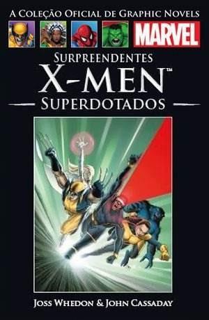 Hq Marvel X-men Superdotados Salvat Novo Lacrado