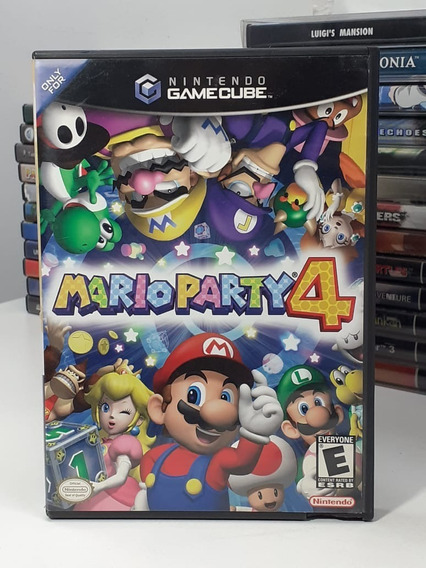 Mario Party 4 Nintendo Gamecube Americano Original Semi Novo