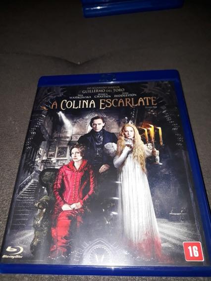 Blu Ray Filme A Colina Escarlate - Guillermo Del Toro Origin