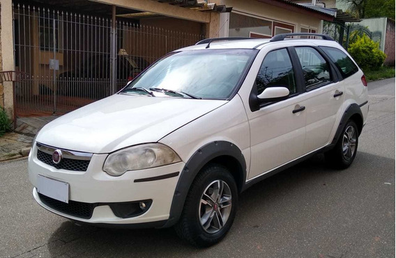 Fiat Weekend Trekking 2015 Flex Vendo - Troco