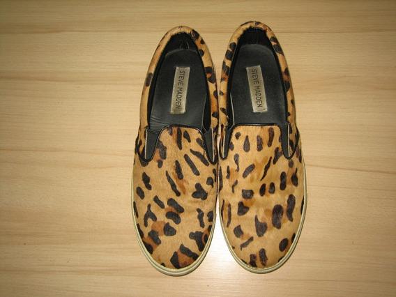 Zapato Dama Animal Print Talla 8b Steve Madden Original