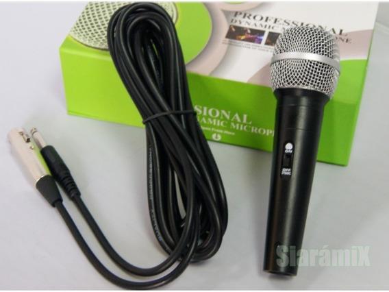 Microfone Weisre Com Cabo Em Promoção