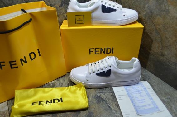 Tennis Sneakers Fendi Blanco, Envío Gratis