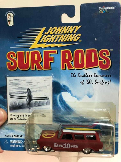Johnny Lightning Surf Rods The Hang Ten Men Rambler Wagon