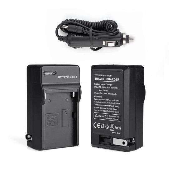 Carregador Para Bateria Sony Np-f550 570 F970 Iluminador Cn