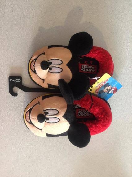 Pantuflas De Mickey Mouse