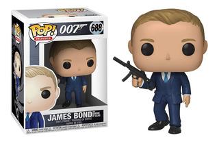Funko Pop James Bond #688 007 Quantum Of Solace Regalosleon