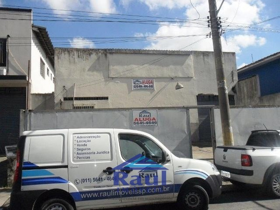 Locação Galpão - Vl. Socorro, São Paulo-sp - 1688-2