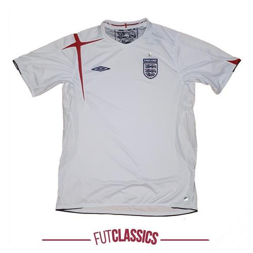 a6e709e6fe camisa oficial seleção inglaterra 2005 home umbro tam g rara. Carregando  zoom.