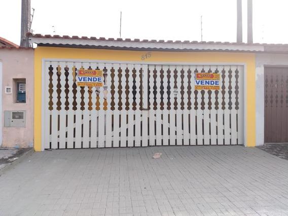 Linda Casa Em Mongaguá À Venda !!! Ref:5029 D