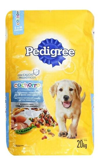 Pedigree Puppy Alim Perro Bulto 20 Kg