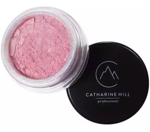 Imagem 1 de 3 de Maquiagem Glitter Pigmento Sombra Iluminadora Rosa