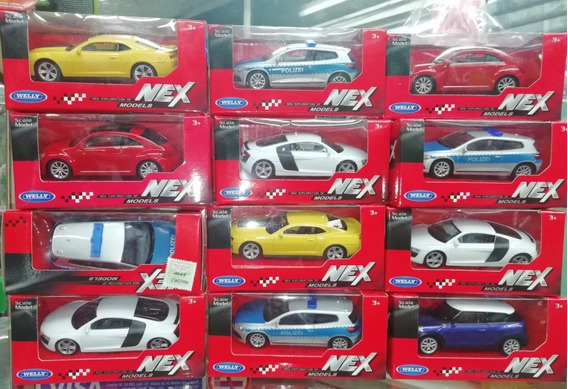 Auto X 1 Coleccion Metal Welly Nex Generation
