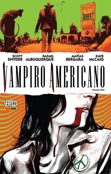 Hq - Vampiro Americano - Volume 7 - Capa Dura