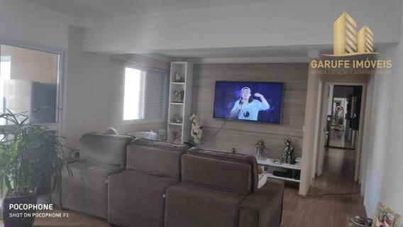 Apartamento Com 3 Dormitórios À Venda, 122 M² Por R$ 540.000,00 - Jardim Das Indústrias - São José Dos Campos/sp - Ap1398