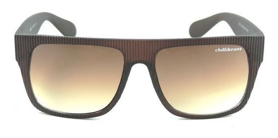 Oculos Chilli Beans Marrom Masculino 400 Uv De Protecao