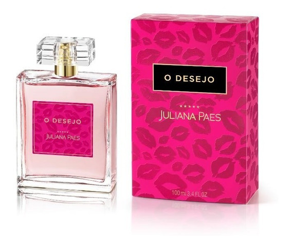 Perfume Juliana Paes O Desejo Deo Colônia 100ml