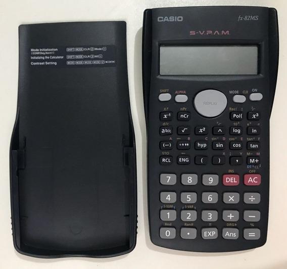 Calculadora Casio Fx-82ms Científica -s/cx - Curitiba - Pr.
