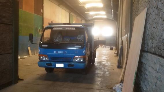 Camion Volcador Jac Npr 5 Toneladas Corralon Impecable!!!