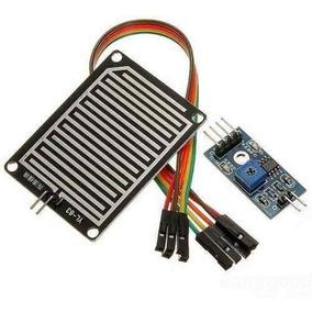 Módulo Sensor De Chuva Pingos Gotas De Água Arduino + Cabos