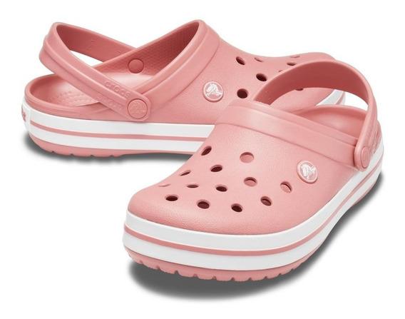 Crocs Crocband Rosa /nude Original C/ Garantia
