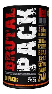 Brutal Pack - Red Series 30 Packs - 5 Produtos Em 1
