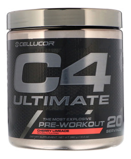 C4 Ultimate Cellucor 20 Doses Sabor Cherry Limeade - 390g