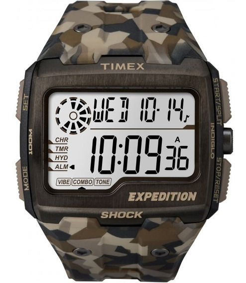 Relógio Masculino Timex Expedition Grid Shock