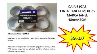 Cinta Canela 48mmx50m Marca Janel