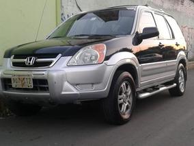 Honda Cr-v 2003 Exl Equip Lujo Piel/v Quemaco Remato A $89m