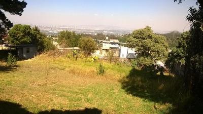 Terreno Panorámico Tlalpan Cdmx-a 15 Mints La Joya (caseta)